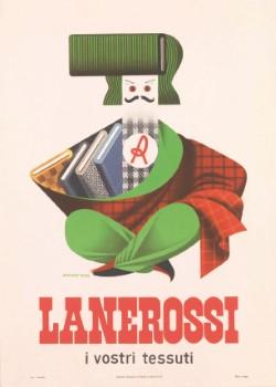 thumbnail_7 Armando Testa annuncio pubblicitario per tessuti Lanerossi 1953.jpg